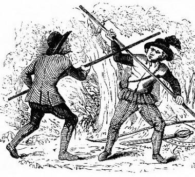 Quarter Staff Combat