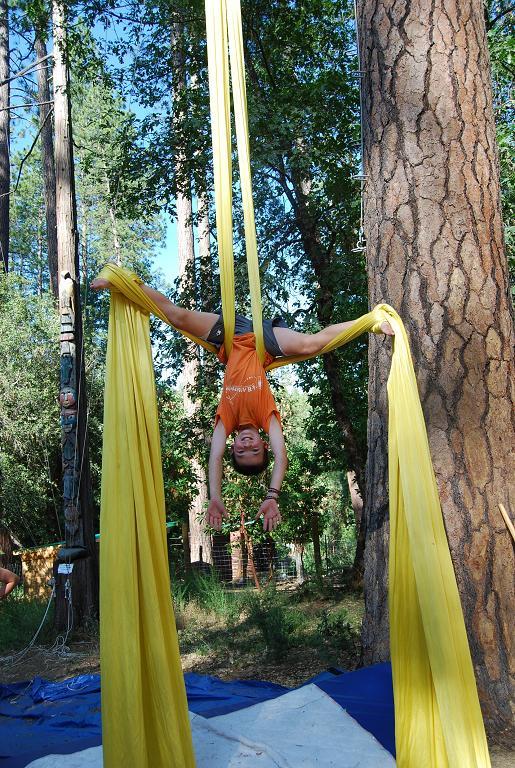 Aerial Silks Camp Augusta