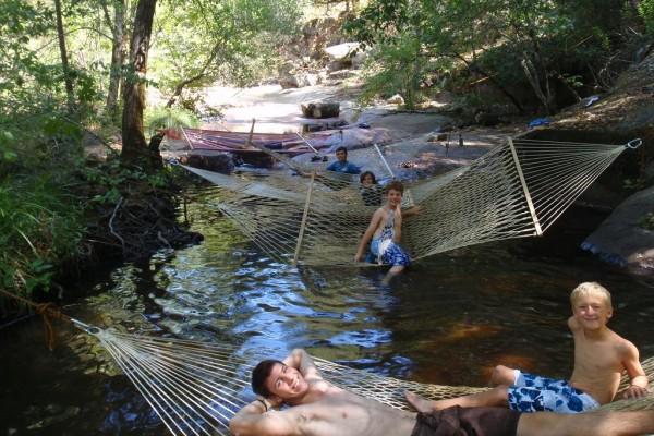 Creek Hammocking