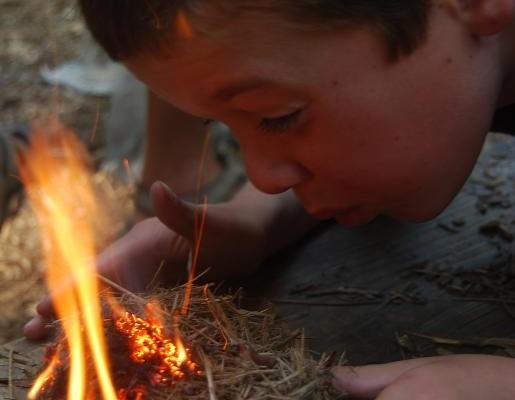 Primitive Fire Making