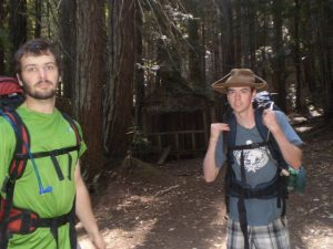 backpacking the redwood national park to celebrate life