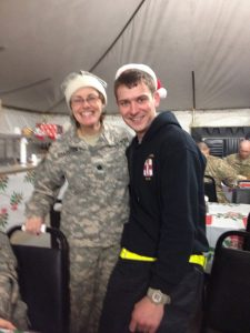 I was in the army medical corps with some fun people