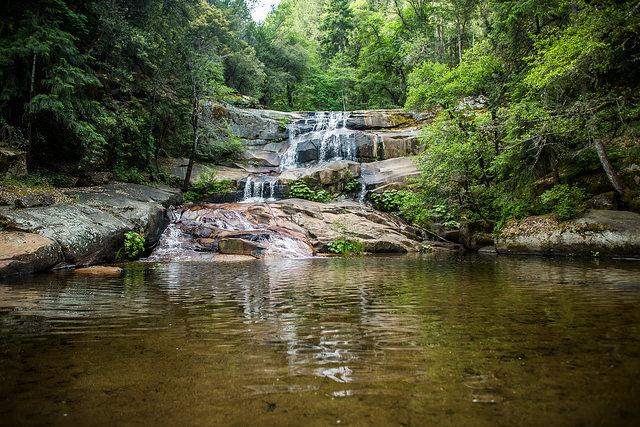 waterfalls nature summer camp
